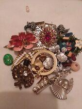Lot of Broken Jewelry for crafting, Harvesting or repair.
