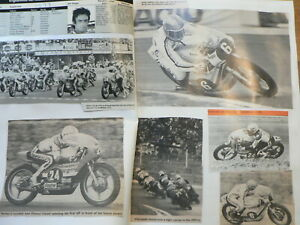 MOTO GP ITALY MONZA IMOLA MOTO SCRAPBOOK WITH PICTURES AND RESULTS 1951-1976 AGO