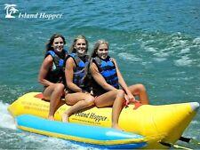 NEW Island Hopper PVC-3 Banana Boat Inflatable 3 Passenger Water Sled