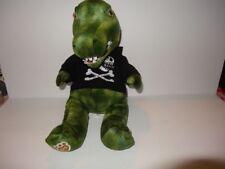 "Build A Bear Alligator Crocodile Black Hoodie 19"" Tall"