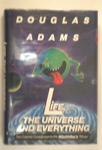 RARE Life, the Universe and Everything Douglas Adams 1st Edition, Signed