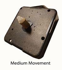 Replacement Quart Clock movement mechanism with fittings +Metal 7cm Hands Medium
