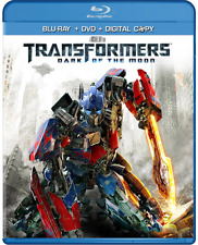 Transformers: Dark of the Moon (Blu-ray + DVD + Digial Copy ) New Sealed