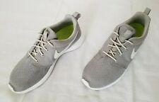 Womens Size 8.5 Grey White NIKEiD Roshe One Running Shoes 943709-991 preowned