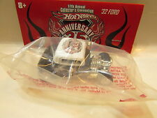 HOT WHEELS ANNIVERSARY 35 - '32 FORD  COUPE 17TH CONVENTION - BAGGIE W+