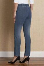 Soft Surroundings Metro Legging Skinny Jeans Womens Size Medium Stretch Waist