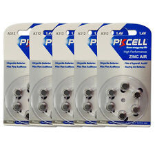 30x A312 PR41 7002ZD 1.4V Zinc Air Hearing Aid Battery