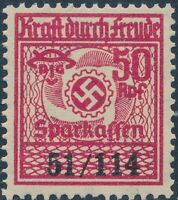 Stamp Germany Revenue WWII Fascism War Era KDF Kraft durch Freude 42114 MNH