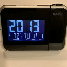 LaCross Technology  Projector Style Clock/Alarm, Indoor Temp & Date Model W85923