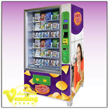 New DVS Duravend 40S Refrigerated Snack Vending Machine