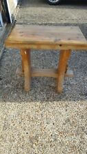 Vintage Small Pine Bench/Stool Used
