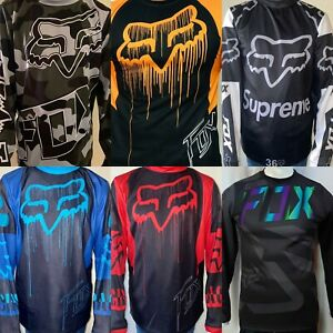 NEW FOX Racing Jersey Long Shirt Men's Motocross/MX/ATV/BMX/MTB Dirt Bike