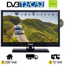 Telefunken T20X740 MOBIL DVD LED TV 20 Zoll DVB/S/S2/T/T2/C, USB, 12 Volt 230V