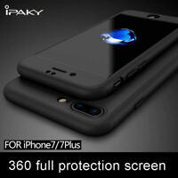 For iPhone Xs Max XR 6S 7 8+ IPAKY 360° Full Ultra Hybrid Shockproof Case Cover