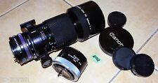Obiettivo Canon FD 300mm; 1:4; FD-LENS + Canon Extender FD 2xb (e00019)