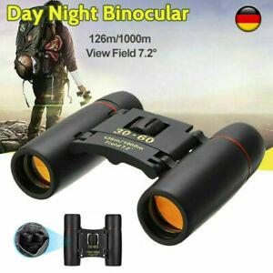 30x60 Fernglas Feldstecher 1000M Nachtsicht Fernrohr Binoculars Ferngläser Zoom