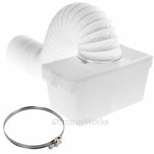 1 Metre Wall Mountable Condenser Box with Hose & Clip for SWAN Tumble Dryer