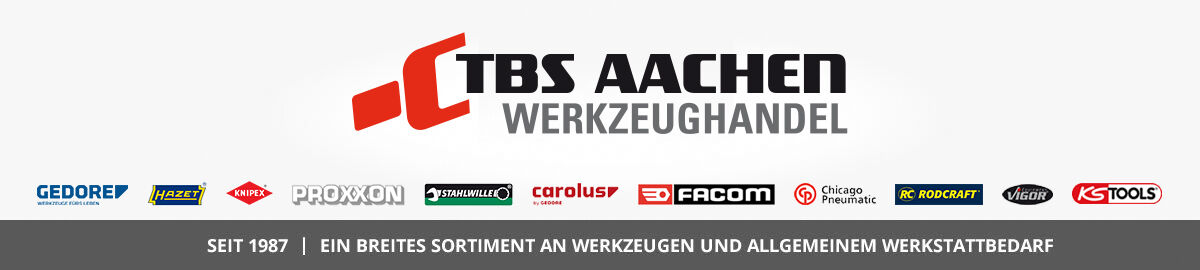 TBS Aachen Werkzeughandel seit 1987