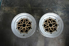 2pc pieces ONLY JDM Work Equip 03 old school rims wheels ae86 ta22 datsun