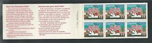 CANADA # 1070a MNH CHRISTMAS 1985, Santa Claus Parade Booklet (8254)