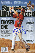 Bryce Harper Sports Illustrated Autograph Replica Poster - Washington Nationals