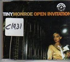(CK716) Tiny Monroe, Open Invitation - 1996 CD