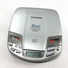Koss Vintage 1998 Cdp687 Series Portable Cd Player Vtg 40 Sec Anti Skip, Works