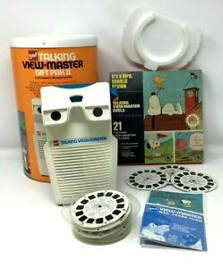 VINTAGE1973 GAF TALKING VIEWMASTER GIFT PAK II REELS SNOOPY FLINTSTONES SUPERMAN