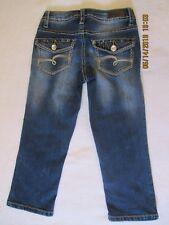 girls Justice size 8 reg. capri jeans