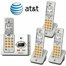At&T 4 Cordless Handset Phone System Answering Machine Caller Id Waiting El52315