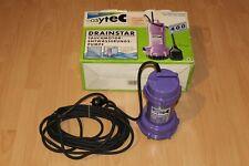 HOMA easytec Drainstar 400 Schmutzwasserpumpe Tauchmotor - Entwässerungspumpe