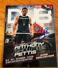Anthony SHOWTIME Pettis Hand Signed 8x10 DUB MAGAZINE COVER