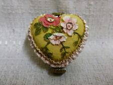 Boyds Bear Momma's Pretty Lil' Pillow W/ Posey McNibble Treasure Box 1E 4033641
