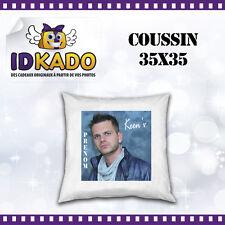 Coussin Keen'V personnalisé avec PRENOM  réf:COU-04 décoration chambre enfant