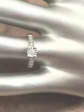 9ct White Gold Diamond 0.15ct Solitaire Engagement Ring SALE RRP £320