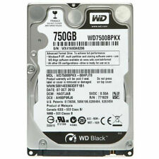 """WD 750GB WD7500BPKX 7200RPM SATA 2.5"""" Laptop HDD Hard Drive For DELL HP PS3"""