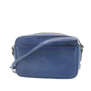 LOUIS VUITTON Epi Trocadero 23 Shoulder Bag Blue M52315 LV Auth yk1789