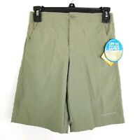 Columbia PFG Franklin Ridge Olive Green Shorts Size Youth Med NWT