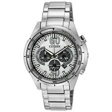 Citizen Eco-Drive HTM Men's CA4121-57A Chronograph Tachymeter 46mm Watch