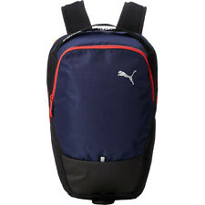 Puma X Sports Gym Training Running Backpack Rucksack Bag Navy Blue/Red