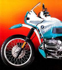1993 BMW R100GS PARIS-DAKAR MOTORCYCLE BROCHURE -BMW R 100 GS PD