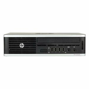 HP 8300 USFF Desktop PC G6xx 4GBRAM 500GBHDD USB3.0 DPX2  WiFi  Adapter  NO DVD