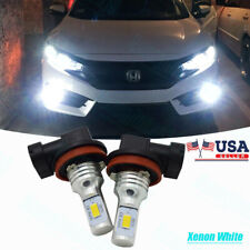 For Honda Accord 2006-2015 High Power 6000K White Led Fog Driving Light Bulbs 2x
