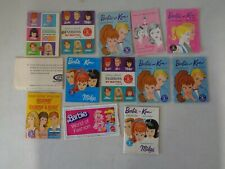12 Assorted 1960's Barbie Booklets