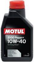 102770 -4 LT OLIO MOTORE AUTO MOTUL 2100 POWER+ 10W40 TECHNOSYNTHESE  ACEA A3/B4