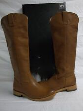 Dolce Vita Size 6.5 M Lujan Cognac Leather Knee High Boots New Womens Shoes NWB