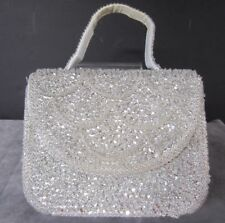 Vintage Beaded EVENING BAG La Regale Hong Kong Cocktail Holiday Wedding Party