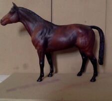 Vintage Breyer Horse. Magnificent Dark Bay Stallion. Model Stock Pose. 1961.
