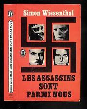 """Simon Wiesenthal : Les assassins sont parmi nous - N° 2692 """"  Le Livre de Poche"""