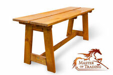 Pine Up to 2 Seats Patio Benches